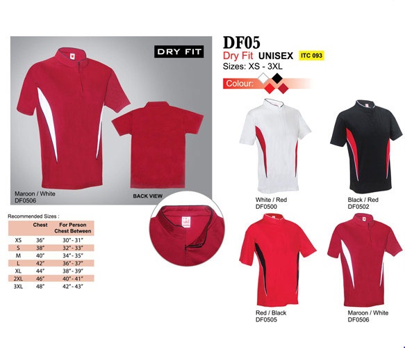 Dry Fit Collar Shirt (DF05)