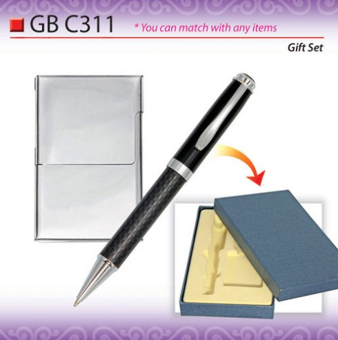 Pen with Name Card Holder (GBC311)