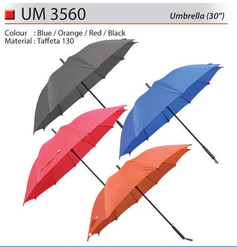 Solid Color Golf Umbrella (UM3560)