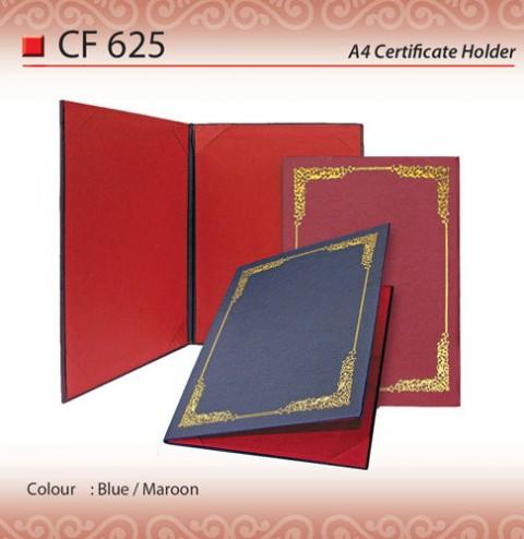 A4 Certificate Holder (CF625)