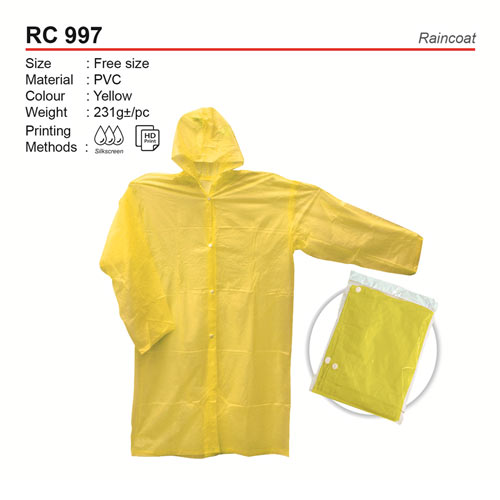 Classic Raincoat (RC997)