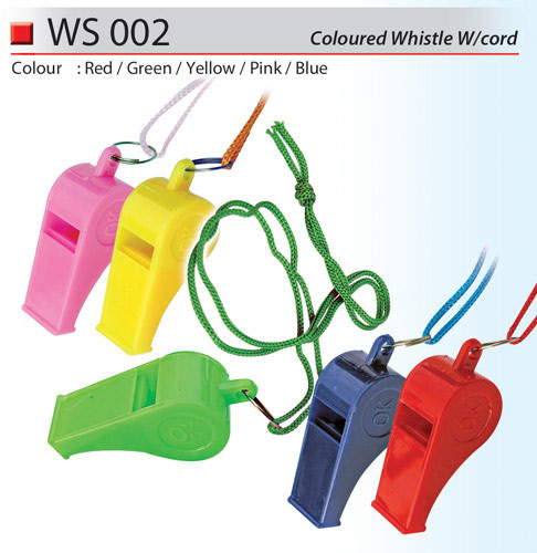 Coloured Whistle (WS002)