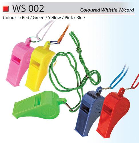 Coloured Whistle (WS002)