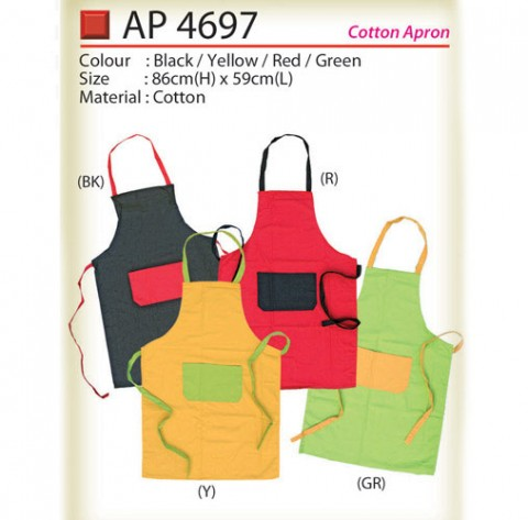 Cotton Apron (AP4697)
