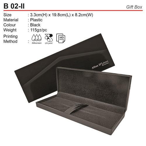 Exclusive Velvet Gift Box (B02-II)