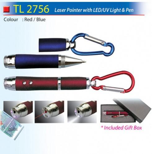 Laser Pointer with UV Light (TL2756)