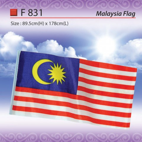 Standard Malaysia Flag (F831)