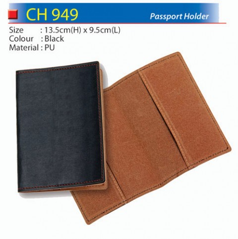 PU Passport Holder (CH949)