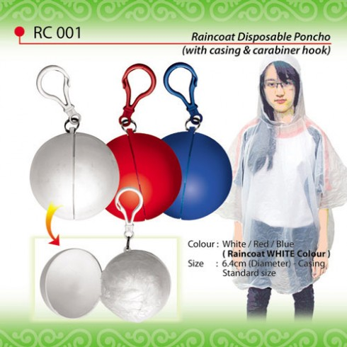 Raincoat Disposable Poncho (RC001)