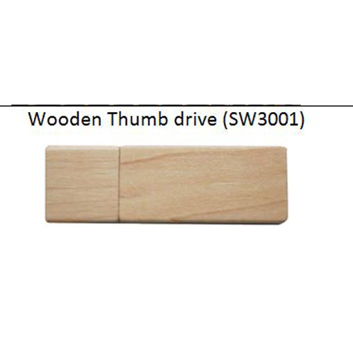 wooden thumb drive SW3001