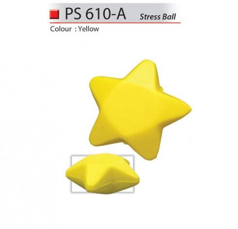 Star Shaped Stress Ball (PS610-A)