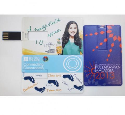 business card pen drive des001