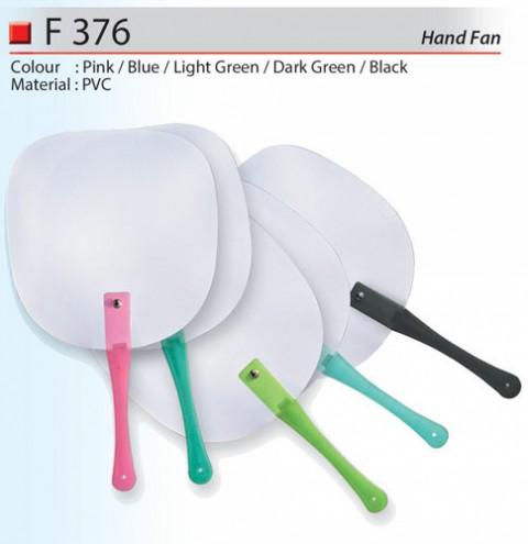Classic PVC Hand Fan (F376)