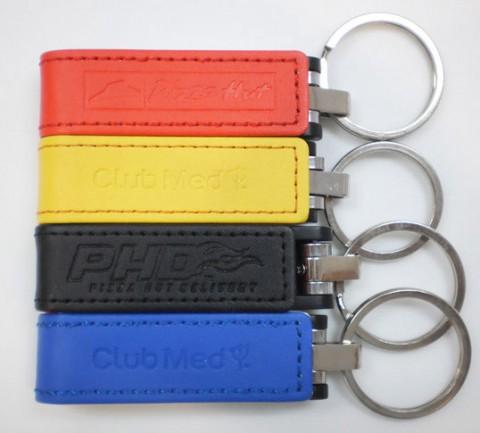 PU leather thumb drive