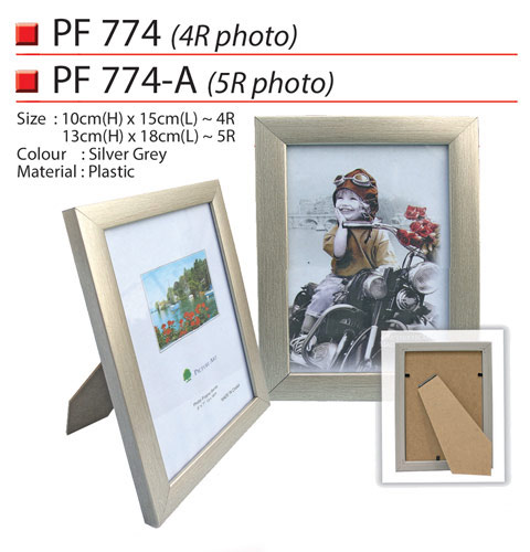 Plastic Photo Frame (PF774)