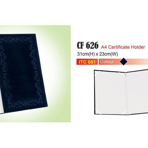 Velvet Certificate Holder (CF626)