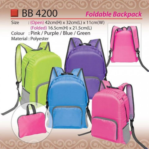 foldable backpack BB4200