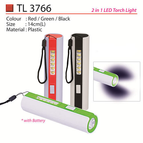 2 in 1 LED Torchlight (TL3766)