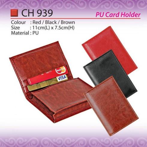 PU Card Holder CH939