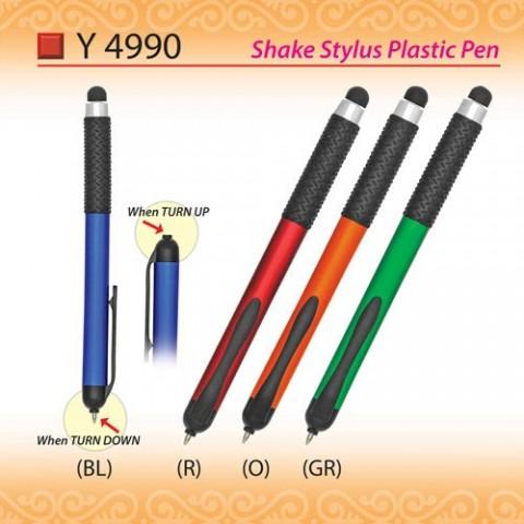 Shake Stylus Plastic Pen (Y4990)