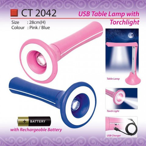Table lamp with torchlight CT2042