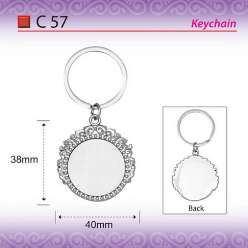 metal keychain C57