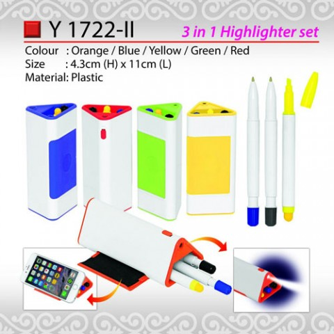 3 in Highlighter Set (Y1722-II)