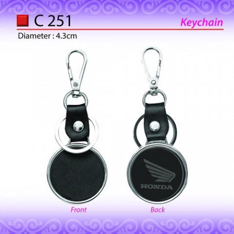 PU Leather Keychain (C251)