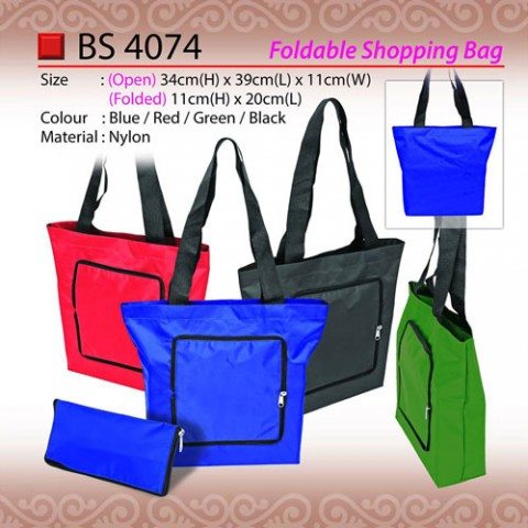 Foldable Shopping Bag (BS4074)