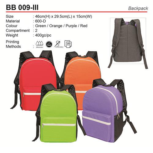 Budget Backpack (BB009-III)