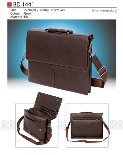 PU Document Bag (BD1441)