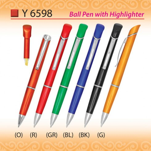 Pen with Highlighter (Y6598)
