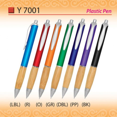 Unique Plastic Pen (Y7001)