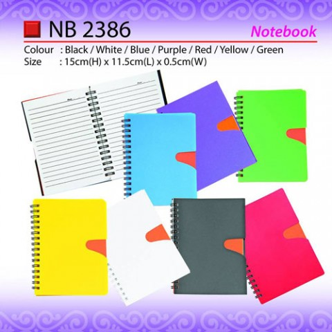 Plastic Notepad (NB2386)