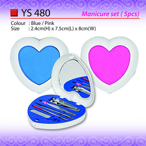Manicure set with Mirror (YS480)