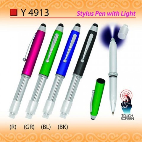 Stylus Pen with Light (Y4913)
