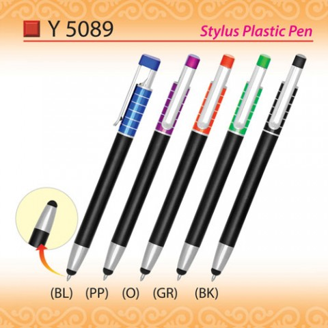 Stylus Plastic Pen (Y5089)