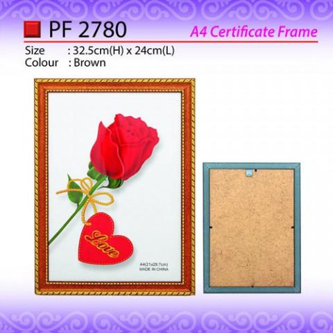 A4 Certificate Frame (PF2780)