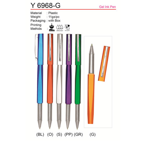 Gel Ink Pen (Y6968-G)