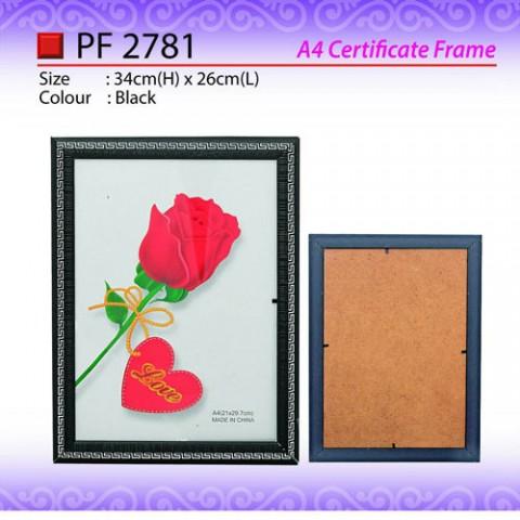 A4 Certificate Frame (PF2781)