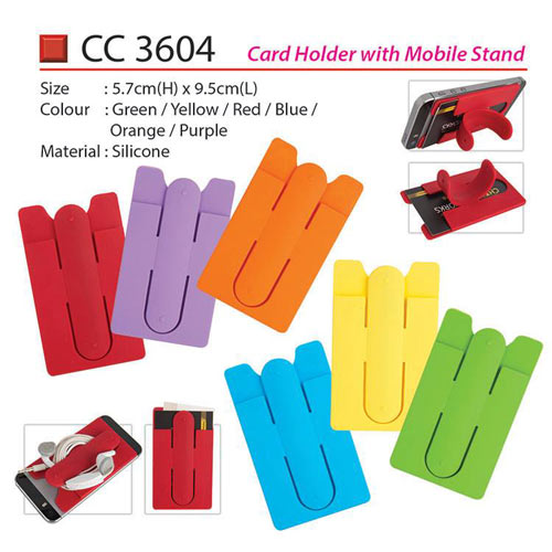 Card Holder with Mobile Stand (CC3604)