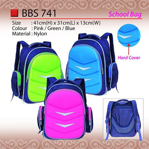 Hard Cover School Bag (BBS741)