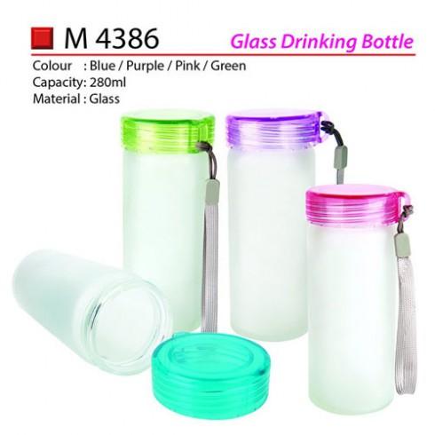 Glass Drinking Bottle (M4386)