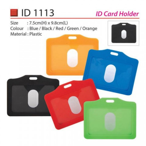 Plastic Card Holder (ID1113)