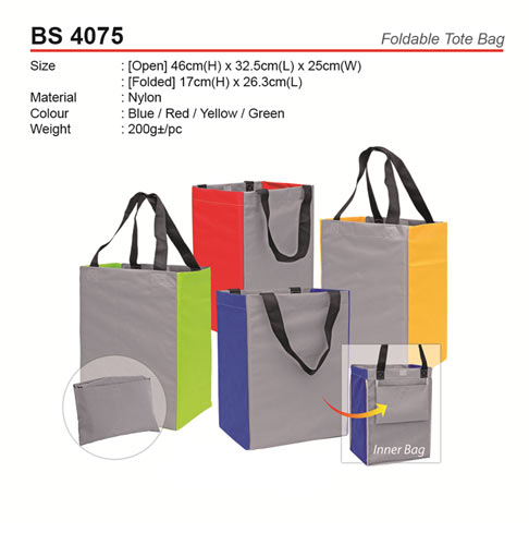 Foldable Tote Bag (BS4075)