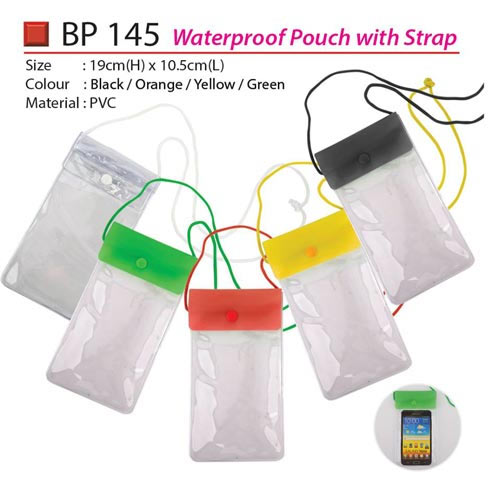 Waterproof Pouch with strap (BP145)