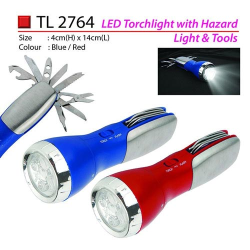LED Torchlight with Tools (TL2764)