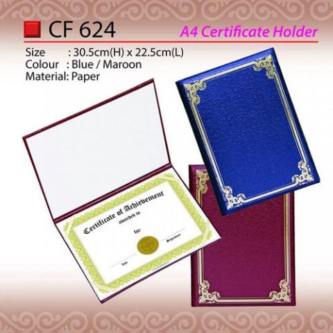 A4 Certificate Holder (CF624)