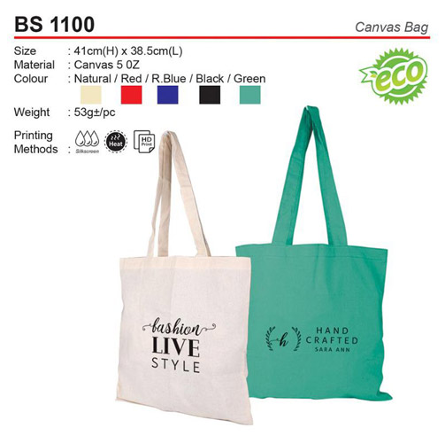 Budget Canvas Bag (BS1100)