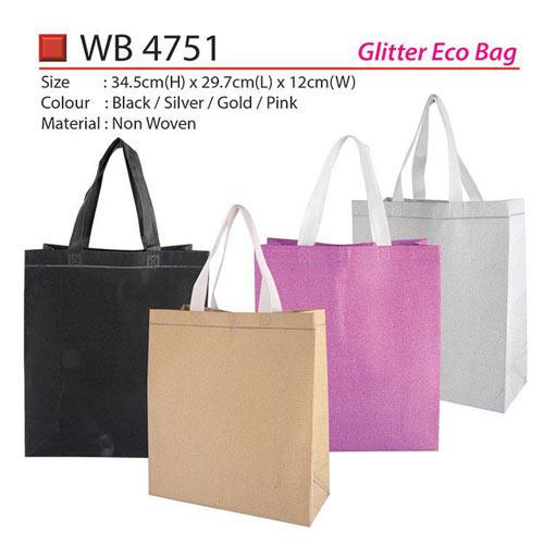 Glitter Eco Bag (WB4751)